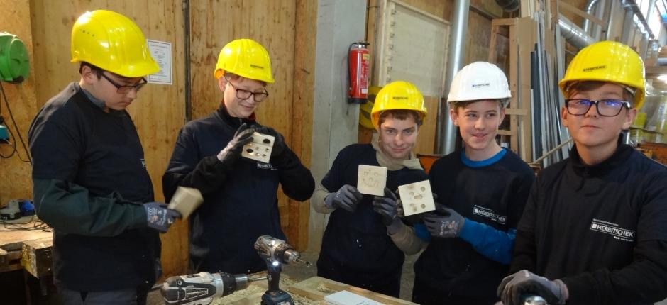 Skills-Explorer-Day bei Fa. Herbitschek